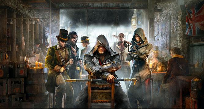 """Waren scheinbar für längere Zeit die letzten Kuttenträger: Die beiden Meuchel-Geschwister Evie und Jacob Frye aus """"Assassin's Creed"""" Syndicate für PS4, Xbox One und PC."""