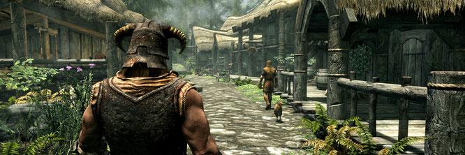 """Die Blaupause für viele Open-World-Games lässt den Spieler seine eigene Story erzählen: """"The Elder Scrolls 5: Skyrim"""""""