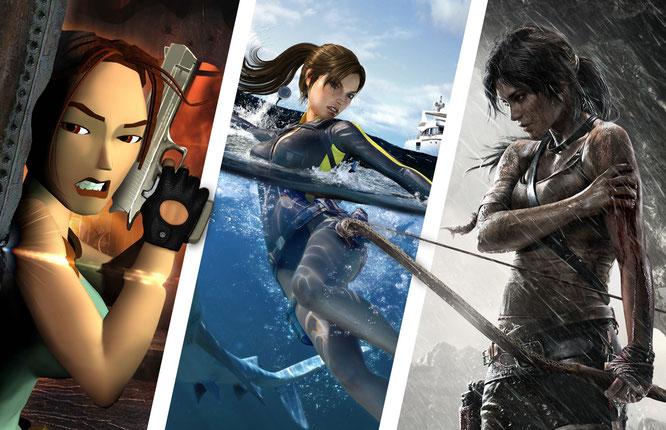 20 Jahre Abenteuer Und Keinen Tag älter Lara Croft Im Wandel Der