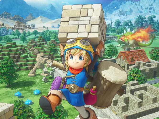 """Bauen und Monster metzeln: """"Dragon Quest Builders"""" hat Square Enix' traditionsreiche Rollenspiel-Reihe um ein weiteres erfolgreiches Spin-Off bereichert."""