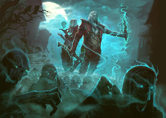 """Wird bald für """"Diablo 3"""" neuaufgelegt: Der """"Necromancer"""" aus Teil 2"""