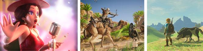 """Von der Kritik hochgelobte Games im letzten Jahr waren """"Super Mario Odyssey"""", """"Assassin's Creed Origins"""" und """"Zelda: Breath of the Wild"""". Aber nach welchen Kriterien werten Journalisten eigentlich –und wie vermitteln sie die ihren Lesern?"""