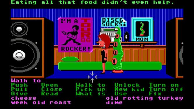 """Ein Herz für Pixel-Tentakel: Das stilprägende Point'n'Click-Abenteuer """"Maniac Mansion"""" ist endlich auf Steam zu haben. Das Original entstand 1987 auf Basis vom """"Script Creation Utility for Maniac Mansion"""" - kurz """"SCUMM""""."""