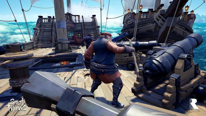 """Microsoft hat zu wenige attraktive Exklusivtitel im Programm, Spiele wie Rares """"Sea of Thieves"""" können's schwerlich richten. Jetzt sollen teure Einkäufe den Mangel angeblich kompensieren. Für EA und Valve interessiert man sich wohl besonders."""