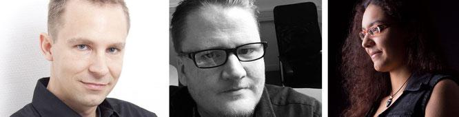 Unsere Gesprächspartner für diesen Beitrag: Deck13-Chefentwickler Jan Klose, Produktions-Profi Christopher Schmitz (IO Interactive, davor Quantic Dream und Ubisoft Bluebyte), die Games-Bloggerin Luana Ferreira.