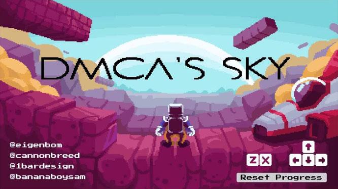 """Mit """"No Mario's Sky"""" enstand in gerade mal 72 Stunden eine Parodie auf """"No Man's Sky"""". Nach einer Abmahnung heißt das Pan-Projekt jetzt """"DMCA's Sky"""" - in Anlehnung an den """"Digital Millennium Copyright Act"""", auf den sich Nintendo beruft."""