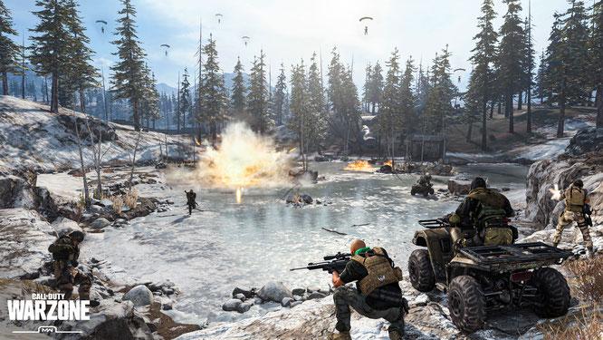 """Sind solche Bilder in Hinblick auf die aktuellen US-Unruhen unangebracht? Activision sagt """"Ja!"""" und verschiebt deshalb die Updates für gleich mehrere COD-Games"""