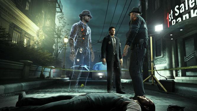 """Geisterhaftes Detektiv-Abenteuer: Xbox-One-Besitzer mit Gold-Abo bekommen im November """"Murdered: Soul Suspect"""" geschenkt."""