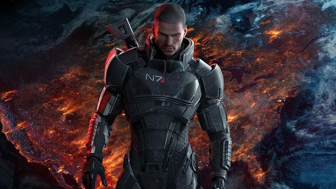 """Nimmt's mit der Sexualität nicht so genau: """"Mass Effect""""-Frontmann Commander Shepard knallt Frauen, Männer und Aliens."""
