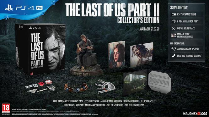 """Kommt mit jeder Menge schicken Extras, vor allem die Ellie-Figur sieht vielversprechend aus: die Collector's Edition von """"Last of Us 2"""" ist die exklusivste und teuerste Version des Adventures."""