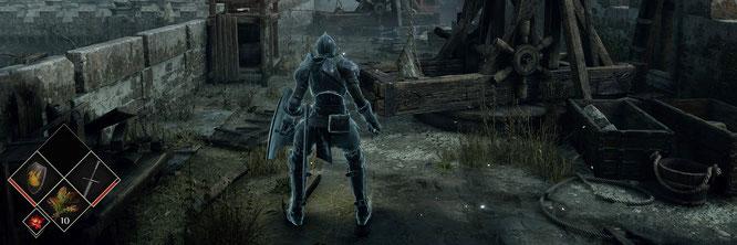 """Wo Holz wie Holz endlich und Feuer wie Feuer aussieht: Natürlich wirkende Werkstoffe sind im PS5-Remake des PS3-Klassikers """"Demon's Souls"""" Grafik-Trumpf"""