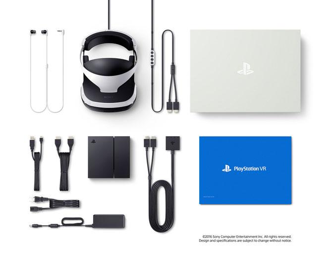 Volles Paket: Sonys Headset kommt mit reichlich Kabelsalt, der sich allerdings dank der clever strukturierten Prozessor- und Vertieler-Box (unter dem Headset abgebildet) gut organisieren lässt.