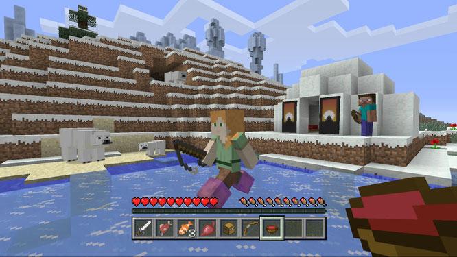 """Wird mit dem für Oktober angekündigten """"Boss-Update"""" noch kreativer: """"Minecraft"""""""