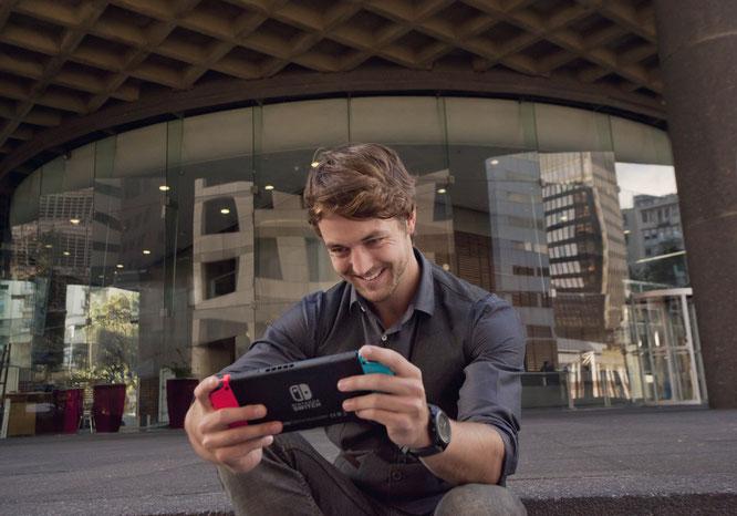 Erfolg durch Mobilität: die Switch von Nintendo