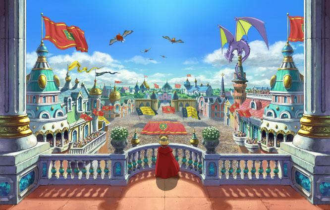 """Zeichentrick-Grafik und märchenhaftes Spiel-Ambiente: Mit """"Ni No Kuni 2"""" reagieren Level 5 und Bandai Namco auf den überraschenden Erfolg des ersten Teils. Das Original erschien ursprünglich auf DS und wurde für die PS3 gehörig aufgemotzt."""