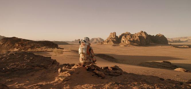 """Gerade als spielbare VR-Adaption für PS-VR und HTC Vive erschienen: Ridley Scotts """"Der Marsianer"""". Kostepunkt: 20 Euro."""