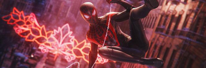 """Erscheint auch auf der PS4, kommt aber nur für PS5-Käufer mit einem exklusiven Remaster des 2018er-""""Spider-Man""""-Games: """"Spider-Man: Miles Morales""""."""