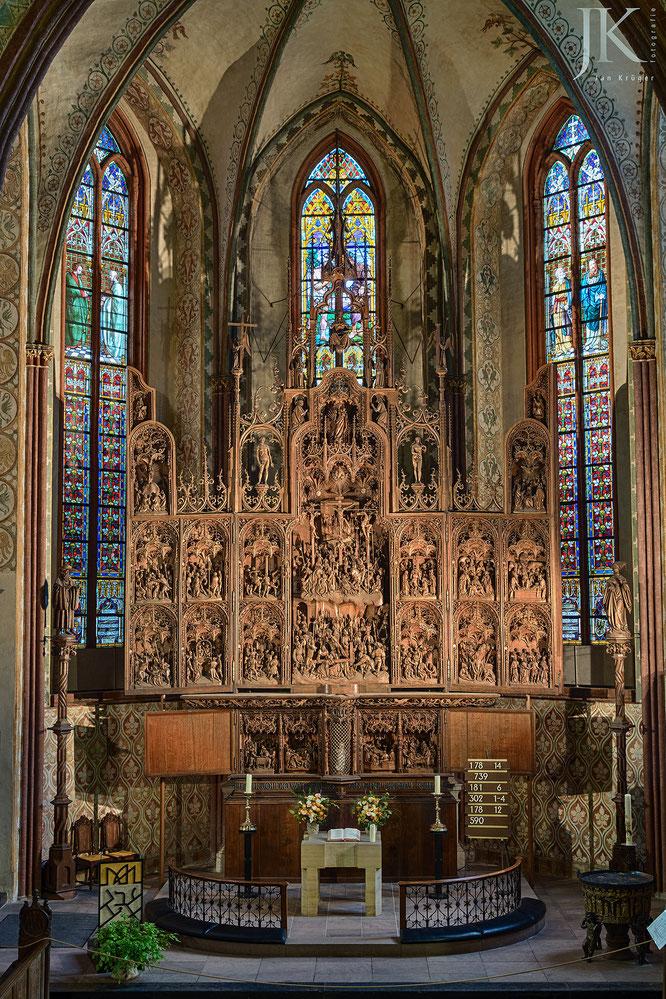 Brüggemann-Altar, St.-Petri-Dom, Schleswig, HDR