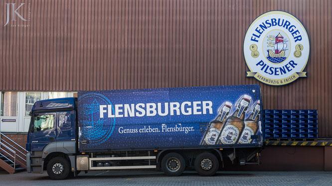 Flensburger Brauerei, LKW, Flens