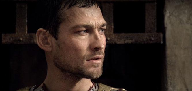 Still from Spartacus on Netflix