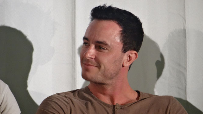 Actor Ryan Kelley at Wolfcon 2017