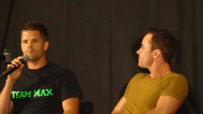 Actor Ryan Kelley at Wolfcon