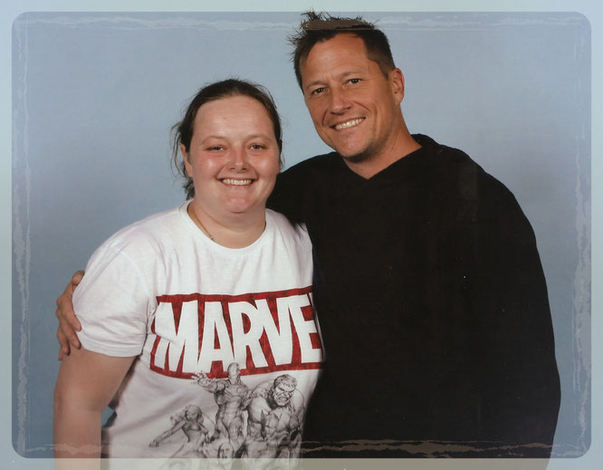 Corin Nemec photo op at FACTS convention