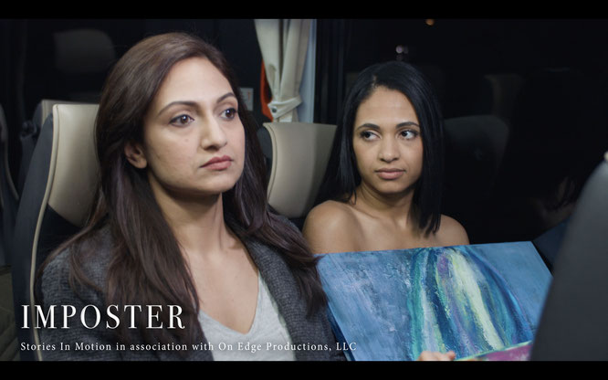 Still from the short film Imposter