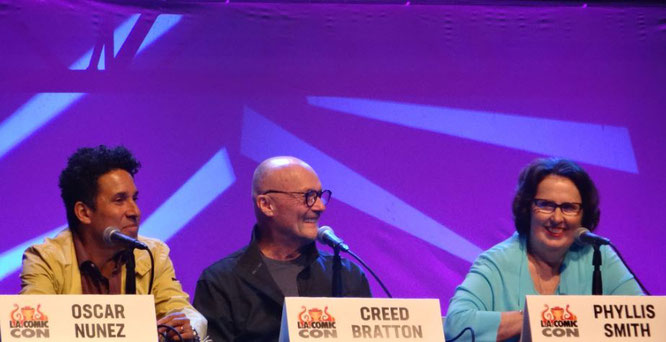 The Office US panel at Comic Con Los Angeles