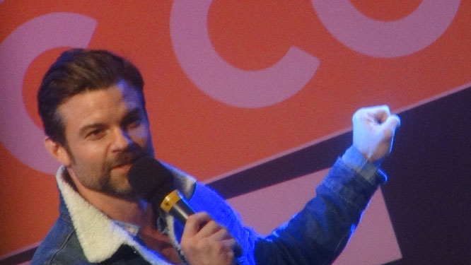Daniel Gillies at Dutch Comic Con