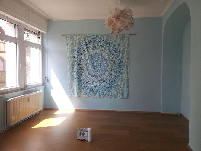 Dörthe Hortig Yoga... mein neuer Yoga-Raum