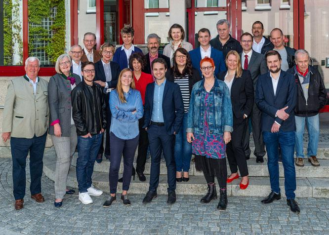 v. l.: A. Widmann, R. Weber, A. Markwardt, H. Dosch, L. Hein, A. Markwardt, A. Liebsch, C. Himmelberg, J. Belmore, M. Schanz, M. Dolce, C. Commes, R. Greiner,  M. Widmann, B. Schmidl, T. Haller, T. Smely, J. Liebsch, M. Poschmann, A. Fischer, U. Schindler