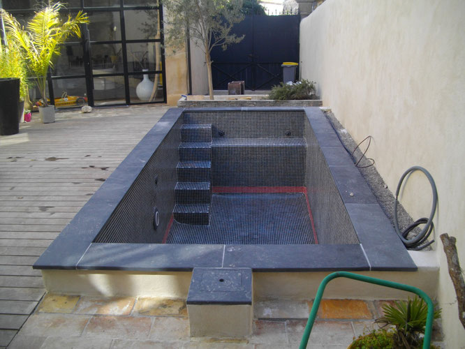 photo piscine kachou beton