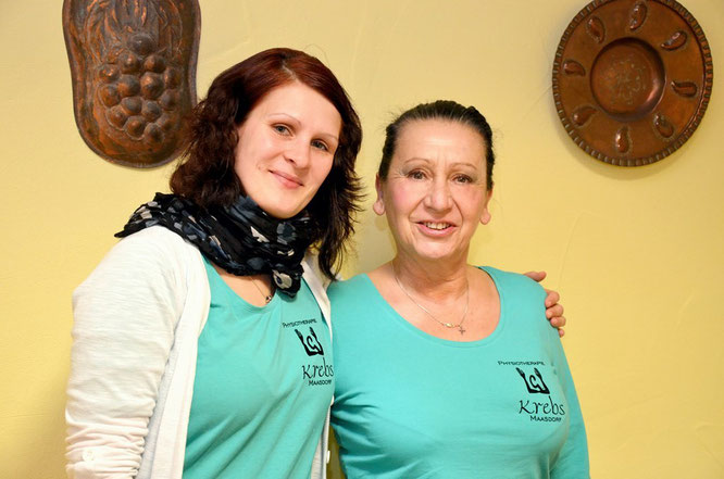 Ihre Therapeuten Francis Rönert und Gabriela Krebs