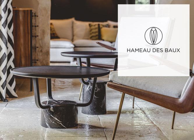 Monolithe édition d'expose au Hameau des Baux