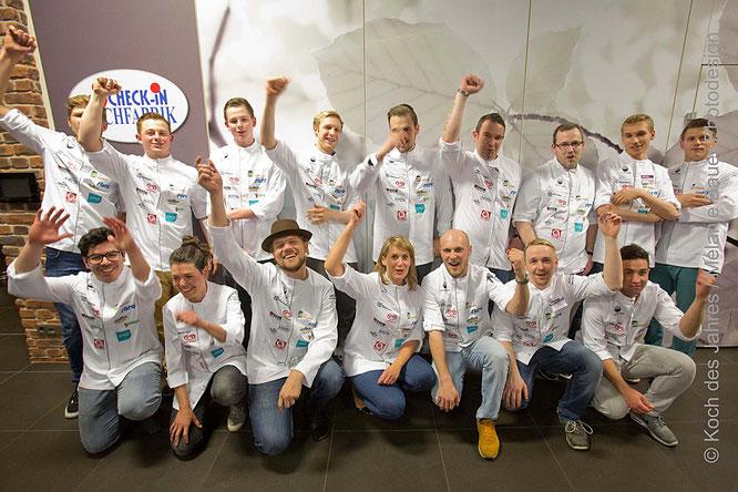 Die Teilnehmer von Achern 2015 gingen voll motiviert in den Wettkampf.