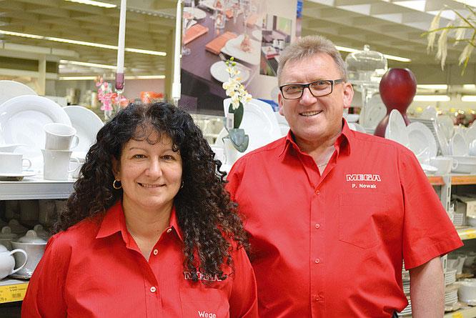 Antonina Wege und Peter Nowak  ©MEGA Stuttgart