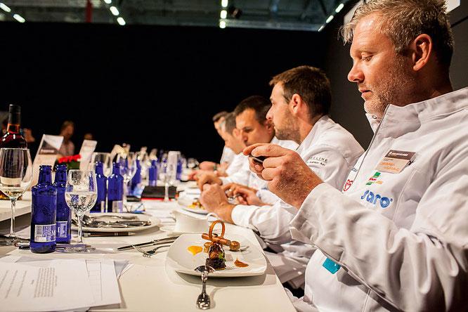 Hochkarätig und kompetent, die Jury bei Koch des Jahres in Köln.