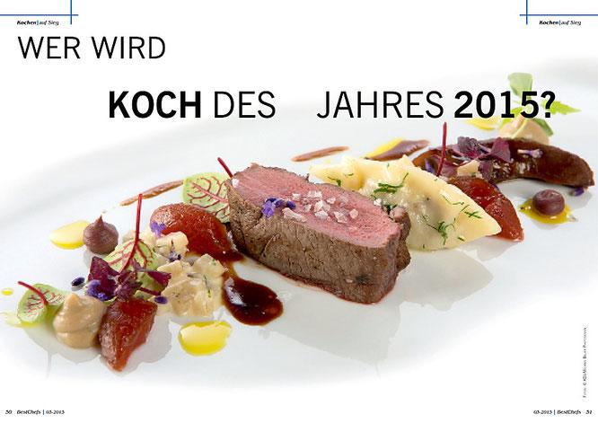 Finale Koch des Jahres 2015 - BestChefs Magazin