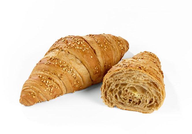 Délifrance Deutschland GmbH stellt auf der INTERGASTRA 2016 das neue Quinoa Croissant vor ©Délifrance