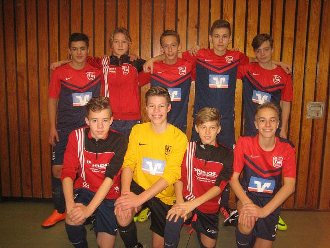 Unser Dream-Team des 1. Spieltages in Delmenhorst in der Stadionsporthalle