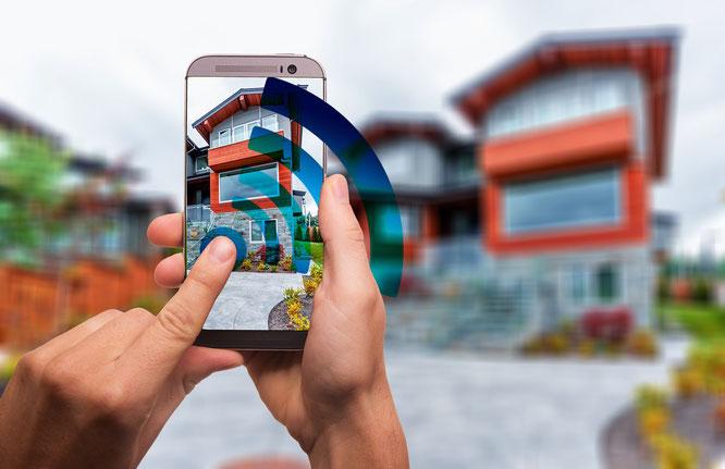 Casa inteligente con sistemas domóticos con Android