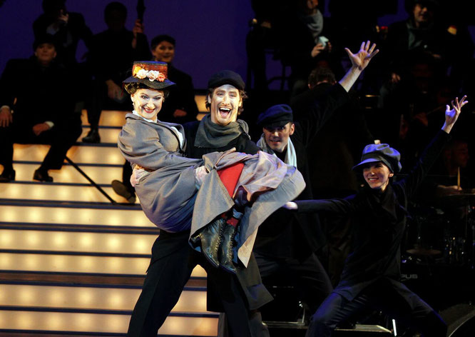 "Marilyn Bennett, Kenneth Mattice,  ballett hagen – ""STEP IN TIME"" aus ""MARY POPPINS"""