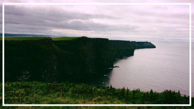 Irland. Cliffs of Moher. Harry Potter. Südirland. Felsklippen