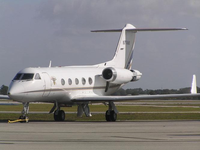 05-11-2016 - N774MB (Gulfstream III, 339) - Okeechobee (FL), USA - (C) R. Verhaegh