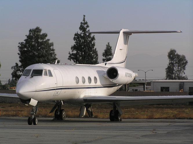 26-10-2016 - N750RA (Gulfstream II, 117) - Ontario (CA), USA - (C) R. Verhaegh