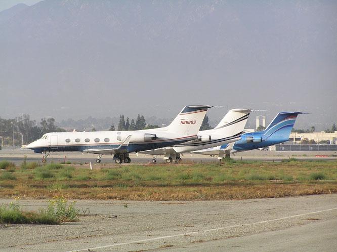 26-10-2016 - N868DS (Gulfstream II, 123) - Ontario (CA), USA - (C) R. Verhaegh