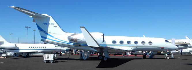 10-10-2017 - N974JD (GIV-SP, 1301) - Las Vegas-Henderson (NV), USA - (C) R. Verhaegh