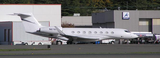 25-10-2016 - N678GA (G650, 6178) - Seattle Boeing Field (WA), USA - (C) R. Verhaegh