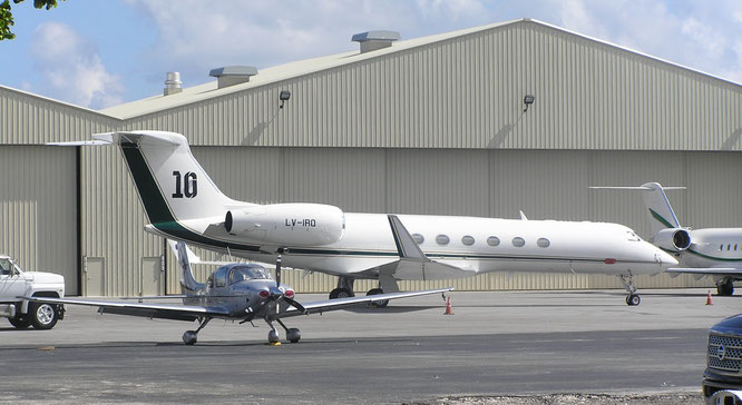 23-10-2019 - LV-IRQ (GV, 699) - Fort Lauderdale - Executive (FL), USA - (C) R. Verhaegh